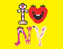 Alphabet Monsters In New York