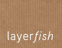 layerfish – logo / branding