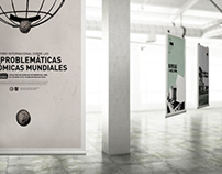Afiches-Foro Problemáticas Económicas/Posters Economy
