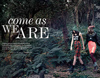 "ELLE Indonesia October 2013: ""Come As We Are"""