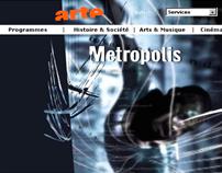 arte-tv website (2004-2008)