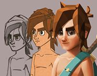 Vhalio: Character Design