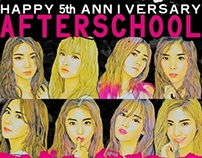 After School 5th Anniversary Project。
