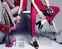 "ELLE Indonesia October 2013: ""Colors of Autumn"""