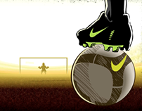NIKE SOCCER GAME (Interactive Animation)