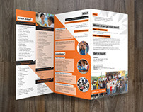 Print - Malaysian Care; Volunteer Program Brochure