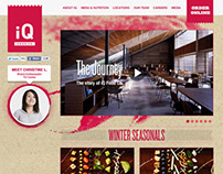 iQ Food Co. Responsive Web (2012)