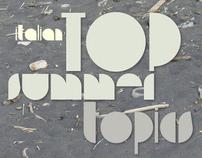 Top Summer Topics