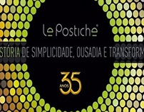 Livro sobre a história da Le Postiche