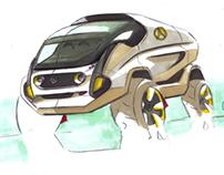 Mercedes Unimog Rally Raid Truck