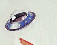 UFO: kitchen thief