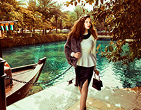Ted Baker advertorial for Emirates Woman Magazine