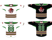 Cardiff Devils Ball Hockey Jerseys