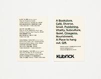 Kubrick - Shop card