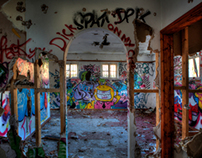 The Graffiti Hotel - Urbex