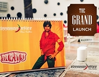 "The Grand Launch of ""Cinnamon Spice"""
