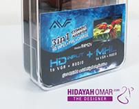 #PACKAGING DESIGN MHL-HDMI-VGA ADAPTER