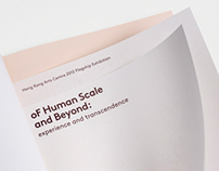 of Human Scale and Beyond - Exhibition Catalogue