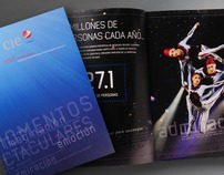 Momentos Espectaculares, Annual Report CIE