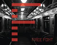 Falling FREE typeface