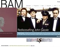 BROOKLYN ACADEMY OF MUSIC - Website Redesign