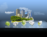 Architect Dynamic Flash Template