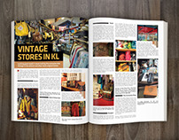 Editorial - In-house Magazine Layout