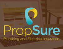 Propsure Website Design