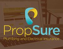 Propsure Website Design