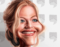 Amanda Seyfried Caricature