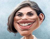 Hayley Atwell caricature