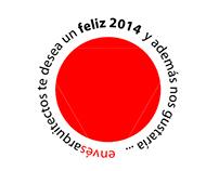Felicitación de año nuevo 2014