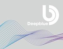Deep Blue identity and branding
