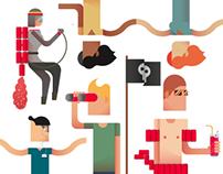 RedBull RE - Design Award | Illustrations, Graphic