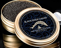 Black River Caviar - Packaging Project