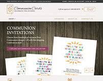 CommunionCards.net Redesign