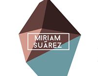 MIRIAM SUÁREZ logo and identity
