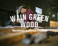 Wain Green Wood: ReBrand, Icons, & Website Design