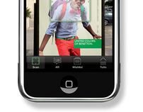 Benetton - Augmented reality