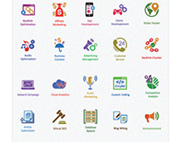 Flat Icons : SEO Icons - Web Marketing Icons | SEO
