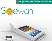 Seewan - A digital device for Indian tailors