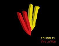 Coldplay | VIVA LA VIDA | CD Packaging