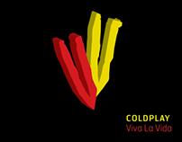 Coldplay   VIVA LA VIDA   CD Packaging
