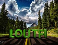 Loutfi 3D wallpaper