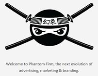 Phantom Firm Responsive Website