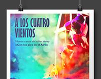 A los cuatro vientos - Aerial Theatre Poster