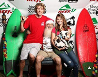 Island Water Sports - Surfing Santa
