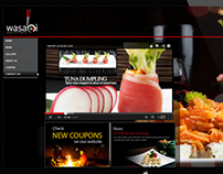 Wasabi Restaurant Website