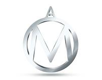 Logo M+A. Сделано в студии Playdesign.