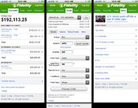 Fidelity Mobile Website Redesign